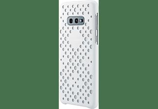 SAMSUNG Pattern, Backcover, Samsung, Galaxy S10e, Weiß/Gelb