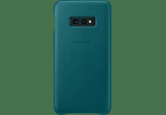SAMSUNG Leather Cover, Backcover, Samsung, Galaxy S10e, Grün