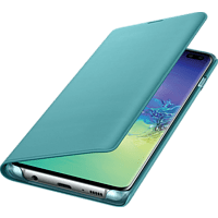 SAMSUNG LED View Cover , Bookcover, Samsung, Galaxy S10+, Grün