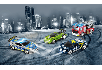 REVELL MINI RC Car Police R/C Spielzeugfahrzeug, Mehrfarbig