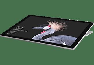 MICROSOFT Surface Pro, Convertible mit 12,3 Zoll Display, Core™ m3 Prozessor, 4 GB RAM, 128 GB SSD, Intel® HD-Grafik 615, Platin