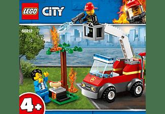 LEGO 60212 Feuerwehr beim Grillfest Bausatz, Mehrfarbig