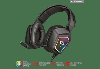 TRUST GXT 450 Blizz, Over-ear Gaming Headset Schwarz