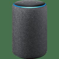 AMAZON Echo Plus (2. Gen.) Smart Speaker, Schwarz/Anthrazit