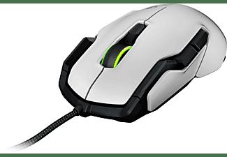 ROCCAT Kova AIMO - Ambidextrous Gaming Maus, Weiß