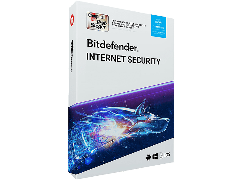 Bitdefender Internet Security 1 Gerät / 18 Monate