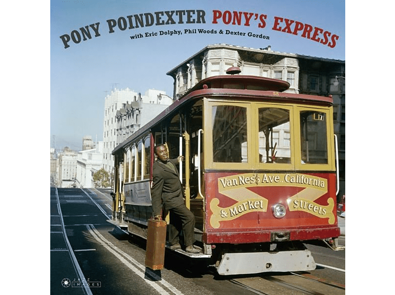 Pony Poindexter - Pony's Express [Vinyl]