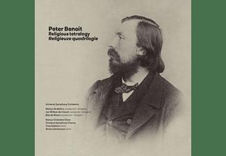Antwerp Symphony Orchestra, Namur Chamber Choir, Yves Saelens, Álvaro Zambrano - Religious Tetralogy  - (CD)