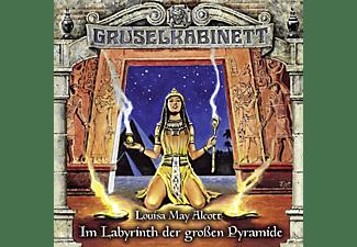 Gruselkabinett-folge 148 - Im Labyrinth der großen Pyramide  - (CD)