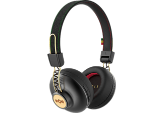 HOUSE OF MARLEY Positive Vibration 2.0 Wireless - Casque Bluetooth (On-ear, Rasta)