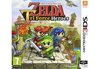 3DS - The Legend of Zelda: Tri Force Heroes /D