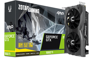 ZOTAC GeForce® GTX 1660 Ti AMP! Edition, 6 GB GDDR6 (ZT-T16610D-10M)