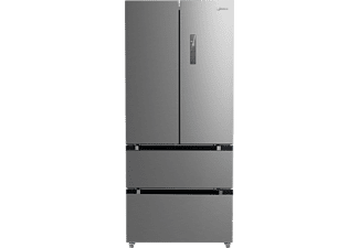 MIDEA KF 6.2 XL Serie 6 French Door (333 kWh/Jahr, A++, 1898 mm hoch, Edelstahl)