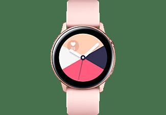 SAMSUNG Galaxy Watch Active, Smartwatch, Fluorkautschuk (FKM), 111.5 mm, Rose Gold
