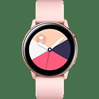 SAMSUNG  Galaxy Watch Active Smartwatch Aluminium, Fluorkautschuk (FKM), 111.5 mm, Rose Gold