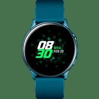 SAMSUNG  Galaxy Watch Active Smartwatch Aluminium, Fluorkautschuk (FKM), 111.5 mm, Grün