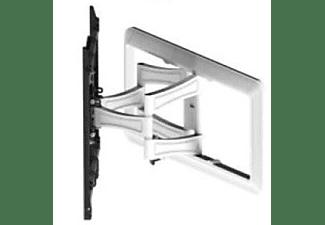 VIVANCO TV Wandhalterung voll beweglich, neig-und schwenkbar, bis 85 Zoll, VESA 600, max 45 kg, weiß