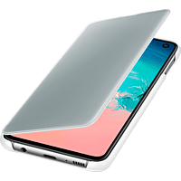 SAMSUNG Clear View Cover , Bookcover, Samsung, Galaxy S10e, Weiß