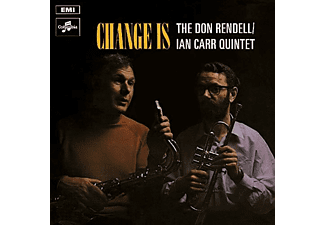 The Ian Carr Quintet, Don Rendell - CHANGE IS - (Vinyl)