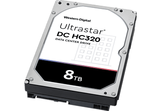 WD Ultrastar HC320 Festplatte, 8 TB HDD SATA, 3,5 Zoll, intern
