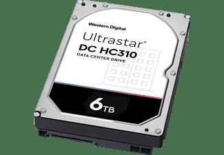 WD Ultrastar HC310 Festplatte, 6 TB HDD SATA, 3,5 Zoll, intern