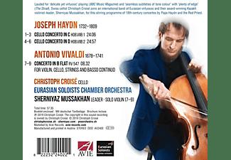 Christoph Croise - Haydn/Vivaldi:Cello Concertos  - (CD)