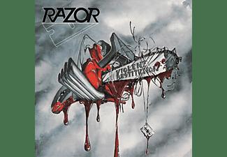 Razor - VIOLENT RESTITUTION (SILVER VINYL)  - (Vinyl)