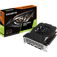 GIGABYTE GeForce® GTX 1660 Ti Mini ITX OC 6GB (NVIDIA, Grafikkarte)
