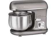CLATRONIC KM 3712 Küchenmaschine Titan (Rührschüsselkapazität: 5 Liter, 1100 Watt)