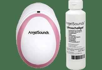 ANGELSOUNDS JPD 100 SM Fetal Doppler Weiß/Rosa
