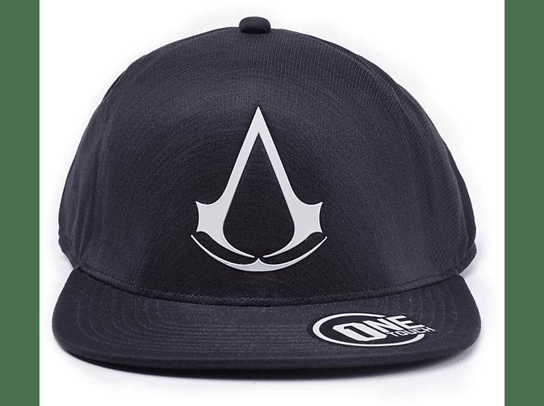 DIFUZED Assassins Creed flat bill Cap Crest Cap, Schwarz
