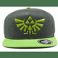 DIFUZED Zelda Snapback Cap Hyrule Crest Logo Cap, Grün