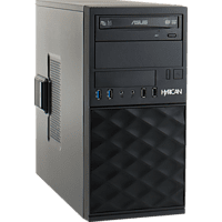 HYRICAN CTS00550, Desktop PC, Core™ i5 Prozessor, 8 GB RAM, 500 GB SSD, Intel® UHD-Grafik 630, Schwarz