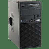 HYRICAN CTS00549, Desktop PC, Core™ i3 Prozessor, 8 GB RAM, 240 GB SSD, Intel® UHD-Grafik 630, Schwarz