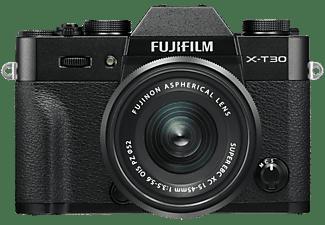 Fujifilm X-T30 systeemcamera Zwart + XC 15-45mm f-3.5-5.6 OIS PZ objectief