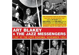 Art Blakey and the Jazz Messengers - Live At The Cafe Bohemia-1955  - (CD)