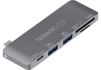 TERRATEC CONNECT C7, Adapter, Space Grey