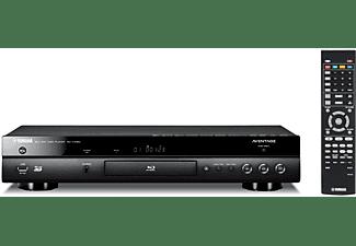 Reproductor Blu-ray - Yamaha BD-A1060, Escalado 4K, Blu-ray, DVD, CD, 3D, Wi-Fi, USB, HDMI, Negro