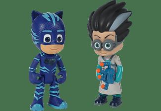 SIMBA TOYS PJ Masks Figurenset Catboy + Romeo Figurenset Mehrfarbig