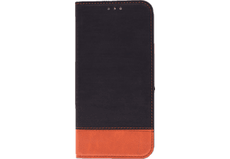 AGM 27542 Retro, Bookcover, Xiaomi, Mi A2, Schwarz/Braun