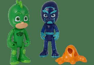 SIMBA TOYS PJ Masks Figuren Set Gecko + Ninja Actionfiguren Mehrfarbig