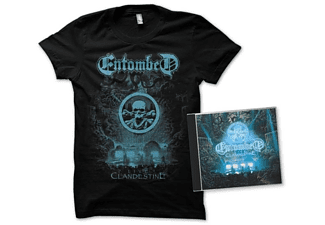 Entombed - Clandestine-Live (Ltd.Edition CD+T-Shirt XL) - (CD + T-Shirt)