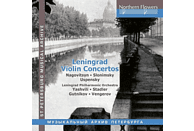 Leningrad Philharmonic Orchestra, Various - Leningrad Violin Concertos [CD]