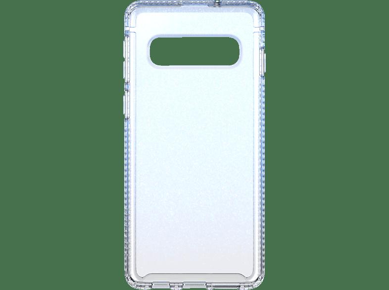 TECH21 Pure Shimmer , Backcover, Samsung, Galaxy S10, Blau