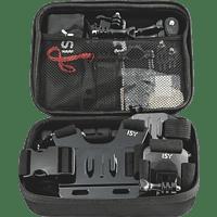 ISY IAA-1800, Gadget Set, Schwarz, passend für GoPro Actioncams