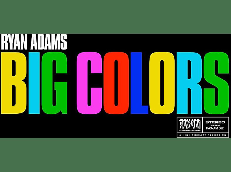 Ryan Adams - Big Colors (Coloured Blue Opaque Vinyl) Exklusive limitierte Version [Vinyl]