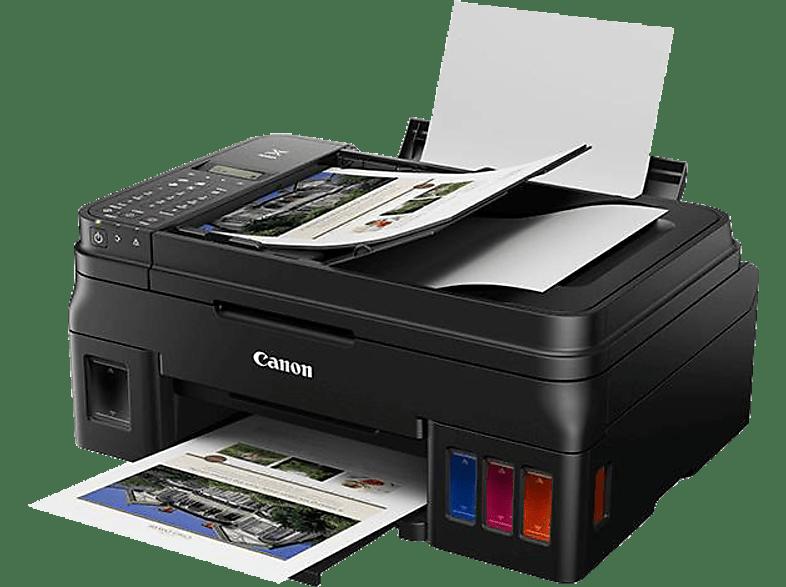 CANON PIXMA G4511 2 FINE Druckköpfe mit Tinte Schwarz und Farbe 4-in-1-Multifunktionsdrucker WLAN