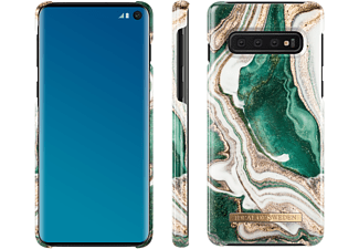IDEAL OF SWEDEN Fashion, Backcover, Samsung, Galaxy S10, Golden Jade Marble