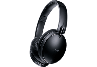JVC HA-S90BN-Z-E, Over-ear Kopfhörer, Near Field Communication, Headsetfunktion, Bluetooth, Mattschwarz