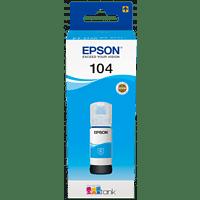EPSON EcoTank 104 Tintenbehälter Cyan (C13T00P240)
